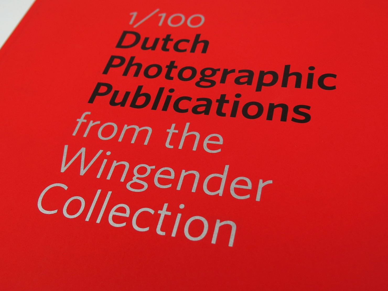 Dutch Photographic Publications from the Wingender Collection